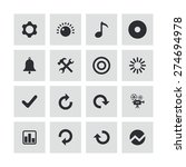 audio icons universal set for... | Shutterstock .eps vector #274694978