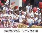 Children On Float In July 4th...