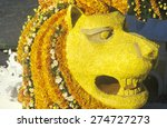 Lion Float In Rose Bowl Parade  ...