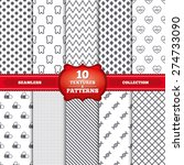 repeatable patterns and...   Shutterstock .eps vector #274733090