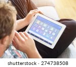 smart house  home automation ...   Shutterstock . vector #274738508