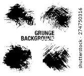 grunge elements   illustration   Shutterstock .eps vector #274750316