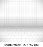 blank space with perspective... | Shutterstock .eps vector #274757183
