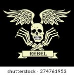 skull and crossbones    Shutterstock .eps vector #274761953