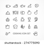 vector illustration cooking... | Shutterstock .eps vector #274775090