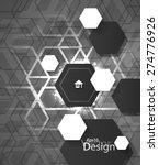eps10 vector modern chrome... | Shutterstock .eps vector #274776926