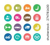 auto icons universal set for... | Shutterstock .eps vector #274781630