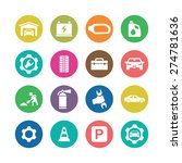 auto icons universal set for... | Shutterstock .eps vector #274781636