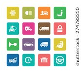 auto icons universal set for... | Shutterstock .eps vector #274783250
