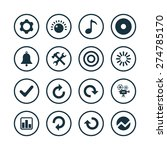 audio icons universal set for... | Shutterstock .eps vector #274785170
