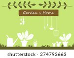 plant growth. garden set icons | Shutterstock .eps vector #274793663