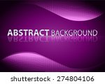 dark purple light abstract... | Shutterstock .eps vector #274804106