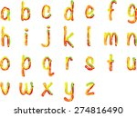 english alphabet a to z | Shutterstock .eps vector #274816490