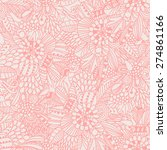 floral seamless pattern in... | Shutterstock .eps vector #274861166