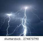 Huge Fork Lightnings And...
