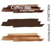 watercolor vector brush strokes