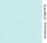 polka dot seamless background | Shutterstock .eps vector #274887974