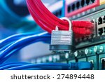 network and data protection... | Shutterstock . vector #274894448