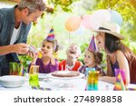 Garden Party With Family For...