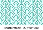 Seamless Mint And White...