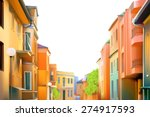 urban landscape  a typical... | Shutterstock .eps vector #274917593