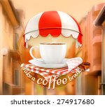 Cup Of Coffee  An Invitation T...