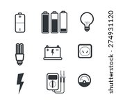 industry power icons   Shutterstock .eps vector #274931120