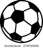 soccer ball | Shutterstock .eps vector #274934054