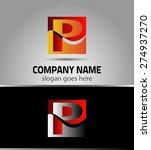 letter p logo icon template... | Shutterstock .eps vector #274937270