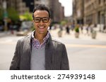 young black african asian man... | Shutterstock . vector #274939148