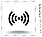 wireless sign icon  vector... | Shutterstock .eps vector #274939994