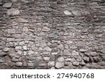Old Castle Stone Wall Texture...