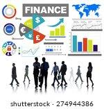 finance bar graph chart...   Shutterstock . vector #274944386