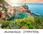 Panorama Of Vernazza And...
