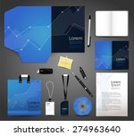 stationery design identity... | Shutterstock .eps vector #274963640