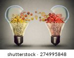 idea exchange concept. ideas... | Shutterstock . vector #274995848