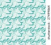 blue tiles. seamless vector... | Shutterstock .eps vector #27499864