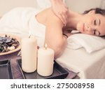 Woman Making Massage In A...