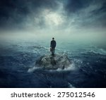 failure crisis concept and lost ... | Shutterstock . vector #275012546
