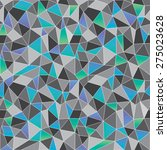 geometric low poly graphic... | Shutterstock .eps vector #275023628