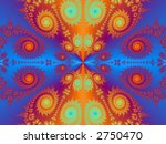 abstract texture page design illustration - stock photo