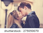 couple loving each other... | Shutterstock . vector #275050070