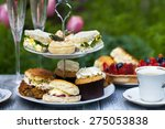 afternoon tea | Shutterstock . vector #275053838