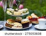 afternoon tea | Shutterstock . vector #275053838