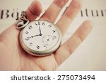 time to change or do not waste... | Shutterstock . vector #275073494