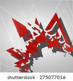 futuristic background ...   Shutterstock .eps vector #275077016