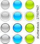 internet shiny buttons. vector... | Shutterstock .eps vector #27507967