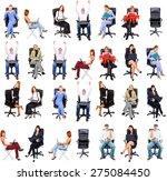 corporate teamwork people... | Shutterstock . vector #275084450