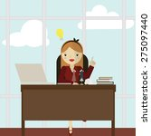 working women icon great for... | Shutterstock .eps vector #275097440