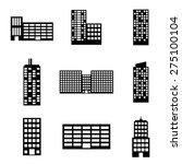 urban design over white... | Shutterstock .eps vector #275100104